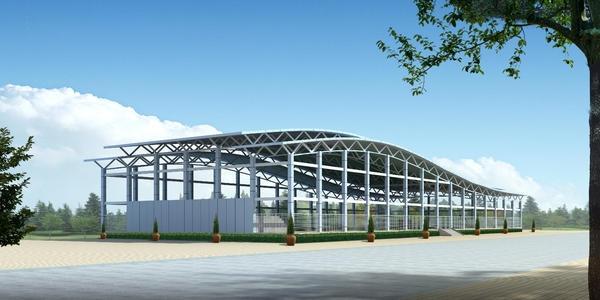 我司中标齐齐哈尔超群机械加工有限公司车间、办公楼及附属设施工程